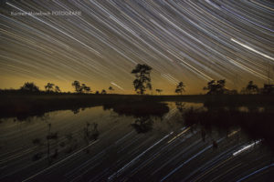 Sternenhimmel überm Moor, Foto Karsten Mosebach