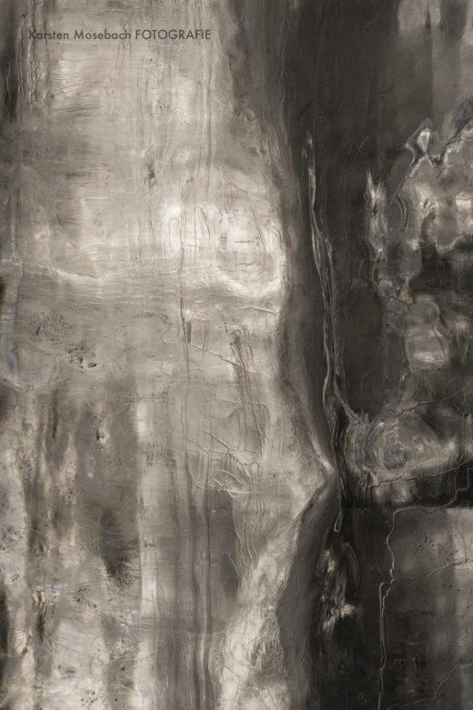 Strukturen im Eis, Foto von Karsten Mosebach